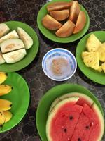 Obst im Mekong-Delta