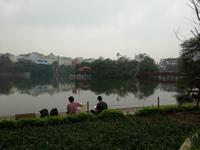 Hanoi - am Hoan Kiem See