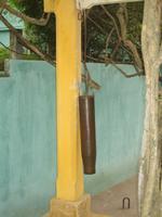 Hanoi - mit dieser Geschützhülse wurde Luftalarm ausgelöst