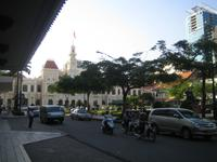 Saigon - Blick zum Rathaus