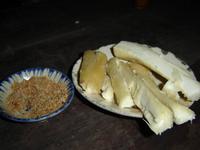 131 Süßkartoffel und Erdnüsse