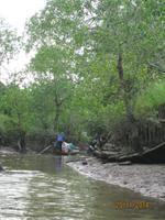 Mit dem Ruderboot durch das Mekong Delta