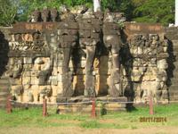 Die Elefantenterrassen von Angkor Thom