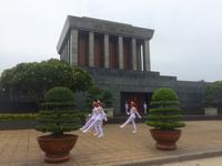 Hanoi Mausoleum von Ho Chi Minh