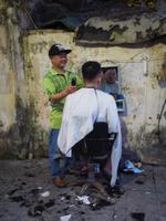 Friseursalon in Hanoi