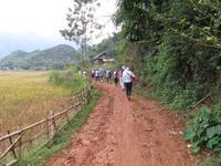 Wanderung in Mai Chau