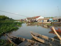 Bootsfahrt Chau Doc zum Cham-Dorf - Fischzucht (35)