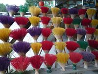 Räucherstäbchen-Herstellung