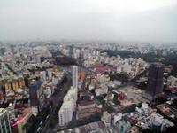 Saigon Blick zum Zentralmarkt