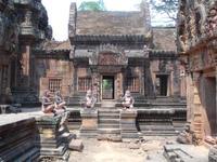 In Banteay Srei