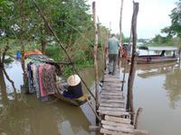 Cham-Dorf bei Chau Doc