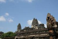 Besichtigung  in Angkor Wat
