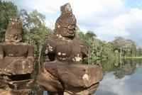 Besichtigung in Angkor