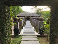 Teil der Hotelanlage in Hue