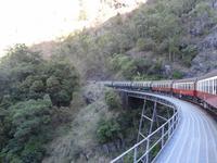 Fahrt mit historischem Zug ...