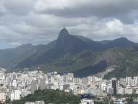 Blick vom Zuckerhut auf den Corcovado
