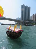 Sampan-Fahrt Hongkong