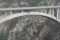 Blue Crans Bridge