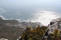 auf der anderen Seite des Tafelberges