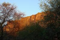 Waterberg Plateaus im Hintergrund