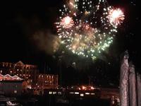 Silvester Kapstadt - Feuerwerk an der Waterfront