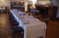 Abendessen im Devon Valley Hotel in Stellenboschin