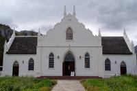 schöne Kirche in Franschhoek