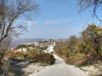 257 Blick auf das Dorf Pano Panagia