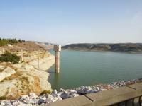 Einer von 100 Staudämmen auf Zypern