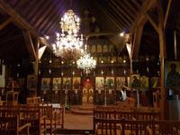 In der Kirche Kyperounta