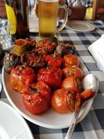 Leckeres Mittagessen in Kouklia